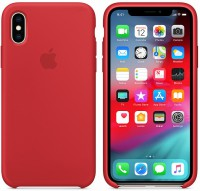 Чехол для смартфона Apple iPhone XS Max Silicone Case - Red (MRWH2)