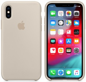 Чехол для смартфона Apple iPhone XS Max Silicone Case - Stone (MRWJ2)
