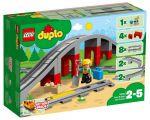 Конструктор Lego Duplo Town Железнодорожный мост и рельсы (10872)