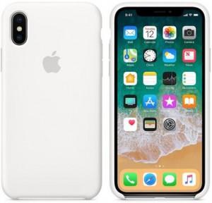 Чехол для смартфона Apple iPhone XR Silicone Case - White