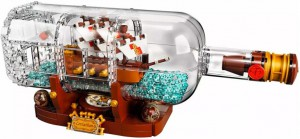 Конструктор 'Корабль в бутылке', 1080 деталей (SY1036)