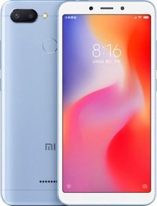 Смартфон Xiaomi Redmi 6 4GB/64GB Blue EU/CE