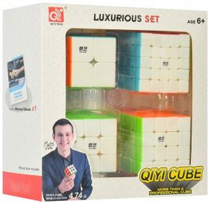 Набор головоломок QiYi 'Кубики Рубика' (EQY526)