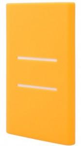 Чехол Силиконовый для Xiaomi Power bank 5000 mAh Orange (Ф02479)