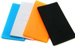 фото Чехол Силиконовый для Xiaomi Power bank 5000 mAh Orange (Ф02479) #3