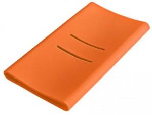 фото Чехол Силиконовый для Xiaomi Power bank 5000 mAh Orange (Ф02479) #2