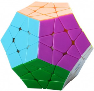 Головоломка QiYi 'X-Man Megaminx Stickerless' (0934C-1)