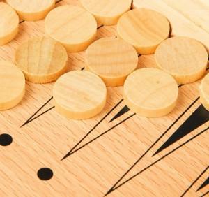 фото Шахматы деревянные Xinliye 3в1 на магнитах (W7702) #9