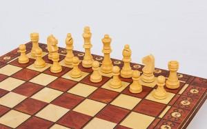 фото Шахматы деревянные Xinliye 3в1 на магнитах (W7702) #4
