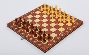 фото Шахматы деревянные Xinliye 3в1 на магнитах (W7702) #3