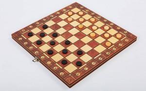 фото Шахматы деревянные Xinliye 3в1 на магнитах (W7702) #6
