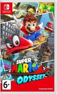 игра Super Mario Odyssey Switch - русская версия