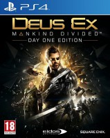игра Deus Ex Mankind Divided Steelbook Edition PS4 - Русская версия