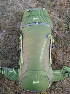 Рюкзак туристический Tramp Floki 50+10 л зеленый (TRP-046-green)