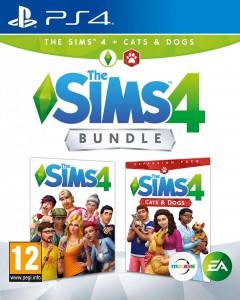 игра Sims 4 Cats & Dogs  PS4 - Русская версия