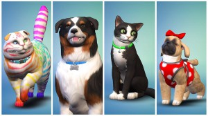 скриншот Sims 4 Cats & Dogs  PS4 - Русская версия #3