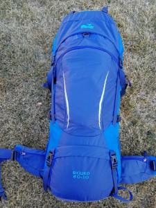 Рюкзак туристический Tramp Sigurd 60+10 л синий (TRP-045-blue)