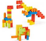 Конструктор Mitu Hape 80 flexible building blocks BEV4153CN (Ф03913)