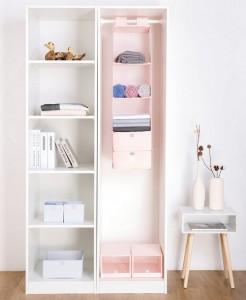 фото Органайзер подвесной для вещей Element Pink 5 полок #5