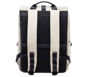 фото Рюкзак RunMi 90 GRINDER Oxford Backpack Beige (6971732584967) #2