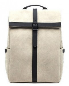 Рюкзак RunMi 90 GRINDER Oxford Backpack Beige (6971732584967)