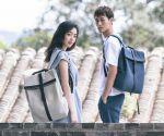 фото Рюкзак RunMi 90 GRINDER Oxford Backpack Dark Blue (6971732584950) #7