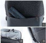 фото Рюкзак RunMi 90 Points of urban simple shoulder bag Light Gray (Р30994) #5