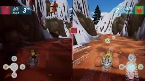скриншот All-Star Fruit Racing  Nintendo Switch, русские субтитры #2