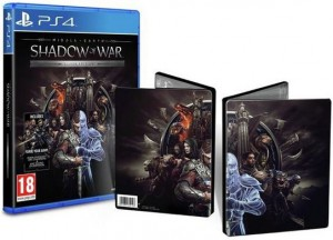 игра Middle-earth Shadow of War Steelbook Edition PS4 - Русская версия