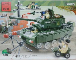 Конструктор Brick `Танк' (823)