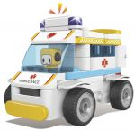 Конструктор Pai Bloks с Пультом ДУ 'Ambulance' (62003W)