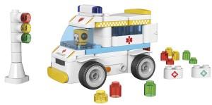 фото Конструктор Pai Bloks с Пультом ДУ 'Ambulance' (62003W) #2