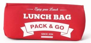 Термосумка ланч-бэг Pack&Go Lunch Bag S, красный
