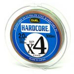 Шнур Duel  Hardcore X4 300m 11kg Multicolor #2 (H3251M)