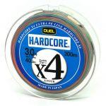 Шнур Duel  Hardcore X4 300m 19kg Multicolor #3 (H3253M)