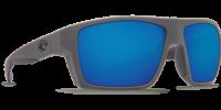 Очки поляризационные Costa Del Mar 'Bloke' Matte Black + Matte Grey Blue (BLK 124 OBMGLP)