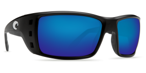 Очки поляризационные Costa Del Mar 'Permit' Matte Black / Blue Mirror 580G (PT 11 OBMGLP)