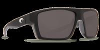 Очки поляризационные Costa Del Mar 'Bloke' Matte Black Grey / Grey 580P (BLK 124 OGP)