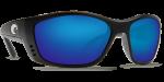 Очки поляризационные Costa Del Mar 'Permit' Black / Blue Mirror 580P (PT 11 OBMP)