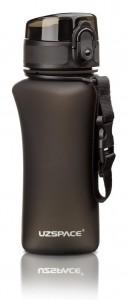 фото Бутылка для воды спортивная Uzspace  (350ml) черная (6007BK) #5