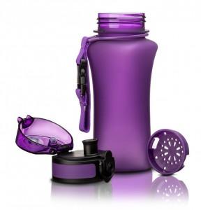 фото Бутылка для воды спортивная Uzspace  (350ml) фиолетовая (6007PL) #3