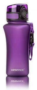 фото Бутылка для воды спортивная Uzspace  (350ml) фиолетовая (6007PL) #4