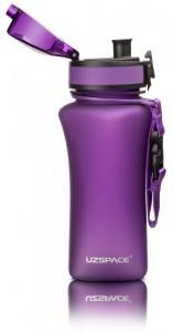 фото Бутылка для воды спортивная Uzspace  (350ml) фиолетовая (6007PL) #5