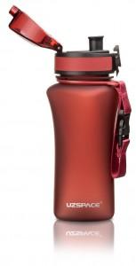 фото Бутылка для воды спортивная Uzspace  (350ml) красная  (6007RD) #5