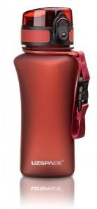 фото Бутылка для воды спортивная Uzspace  (350ml) красная  (6007RD) #4