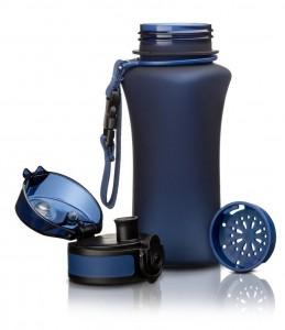 фото Бутылка для воды спортивная Uzspace  (350ml) синяя (6007DB) #3