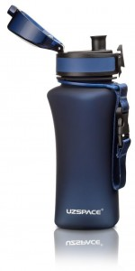 фото Бутылка для воды спортивная Uzspace  (350ml) синяя (6007DB) #5
