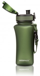 фото Бутылка для воды спортивная Uzspace  (350ml) зеленая  (6007GN) #5