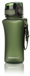 фото Бутылка для воды спортивная Uzspace  (350ml) зеленая  (6007GN) #4