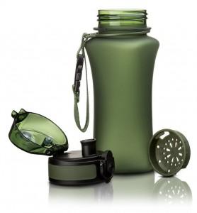 фото Бутылка для воды спортивная Uzspace  (350ml) зеленая  (6007GN) #3
